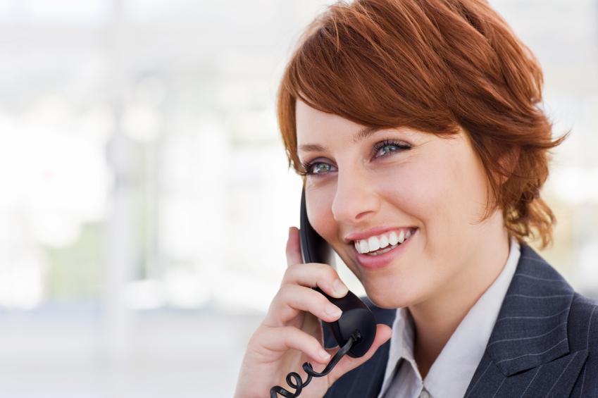 Woman-phone